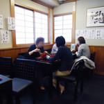 稲にわうどん 割烹 日本橋 古都里 - オバサマたちも、うどんをススる。