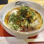 稲にわうどん 割烹 日本橋 古都里 - 「地どり天うどん」950円也。税込。