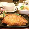 ひろはま - 料理写真:黒豚はとんかつだけじゃない!西洋亭ひろはま特製の甘口生姜醤油でいただく『黒豚ロースステーキ』