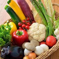 旬の有機野菜にこだわります。