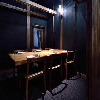 ≪人気のお席に付きお早目のご予約を、、、≫2階の個室。4~10名様まで。