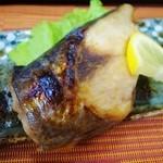 若草寿司 - 鰆塩焼き