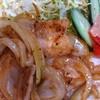 お好み焼き・鉄板焼き 山中  - 料理写真:ランチメニューの「豚バラ定食」味が濃すぎず美味かった!