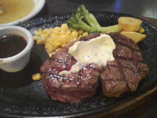 ステーキ&ハンバーグの店 いわたき 野菊野店