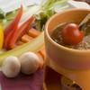 イタリアンバル chino - 料理写真:新鮮な旬野菜を自家製バーニャカウダーソースでどうぞ♪