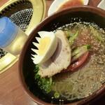 焼肉 おくう - ハーフ冷麺