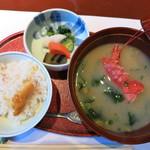潮騒の宿 晴海 - 食事
