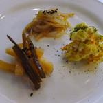 alii cafe - ランチ付属の前菜