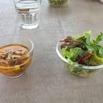 カームカフェ - サラダ&スープ