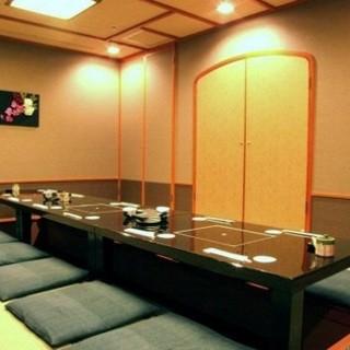 【完全個室】ご利用シーンや人数に合わせてご案内致します!