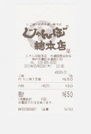 じゃんぼ総本店 水道筋商店街店