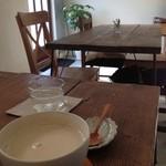 キッチンワーク - ドリンク写真:きなこ豆乳