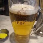 てっちゃん - 一口呑んだビール・・・