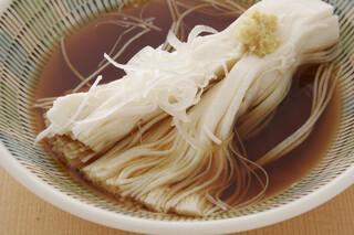 鳥料理 有明 - コース一例 滝川豆腐 創業以来の当店の顔です