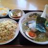 中国料理 大福元 - 料理写真:塩ラーメンのセット!