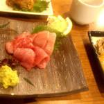 18776612 - 本鮪・珍味三種盛り