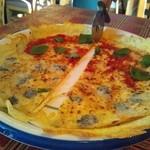 GAMバル - トマトとバジルのマルゲリータ&チーズたっぷりクアトロフォルマージュ