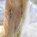 ぶどうの森 - ミックスサンドタマぽて¥220