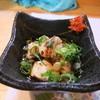 曾根崎 - 料理写真:つき出しは、鯛の白子
