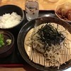 くまのの里 鴨尾 - 料理写真:ざるそば定食 1,000円