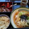 上高地アルペンホテル - 料理写真:ぶっかけ氷見うどん(冷) 1200円