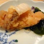 かまくら小花寿司 - お通し 鯖の南蛮漬け