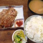 かげろう - 藤井商店さん豚バラ肉味噌漬け炙り焼き