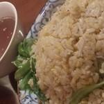中華きしん - しらすレタス炒飯