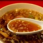 カドヤ食堂 - つけそば スープアップ