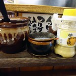 つけ麺 紫匠乃 - 「ゆず皮」イイですね。