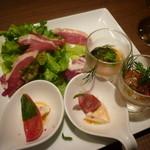 ウーノ・ウーノ - 前菜3種盛