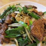 めん王  - 料理写真:黄金のレバニラ炒め小サイズ