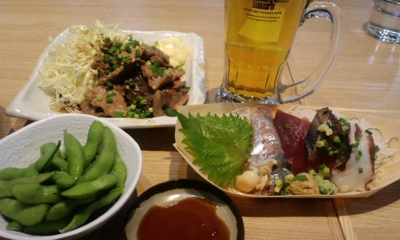 築地食堂源ちゃん 新宿御苑店