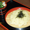細屋 - 料理写真:夏場にはコレ!!ツルツル大人気ざるうどん 550円
