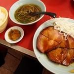 中華 ひるね - 料理写真:焼ぶた + ライスセット