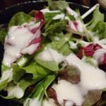 山本炭焼店 - サラダ