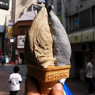 ポーラーベア - ほうじ茶と竹炭きなこ(2013年4月28日)