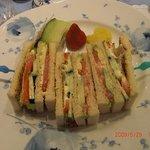 マイセンティーサロン - 野菜サンドウィッチ