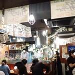 イタリアン酒場「ナチュラ」 - 店内はまさにぶん混み!!