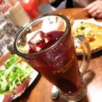 イタリアン酒場「ナチュラ」 - 珍しいジョッキスタイルのスパークリング!!