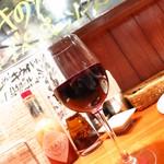 イタリアン酒場「ナチュラ」 - カベルネ(グラス)580円