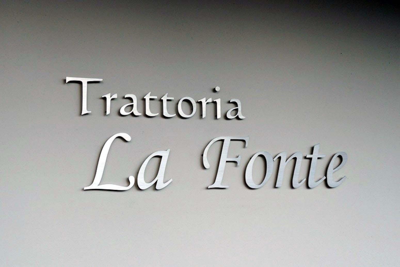 トラットリア ラ フォンテ