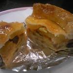 ボン・ネージュ - アップルパイは、昔ながらの味です。