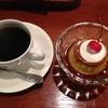 tri cafe - 料理写真:カスタードプリンとブレンドコーヒーのセット 650円