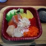 海鮮丼のどんぶりこ - 北海丼(525円)