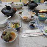 かぢや旅館 - 料理写真:夕食