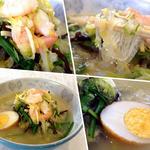 会楽園 - 料理写真:太平燕(¥820)。麺は緑豆春雨ではなく芋デンプンから作られているそうです。