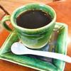 ピュア ブラジル プロポリス - ドリンク写真:ブラジルコーヒー(プリンセス天功カップ)