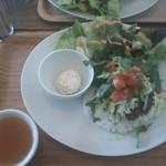カフェ ココチ - 日替わりランチ タコライスセット