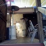 ピッツェリア ラ・ソフィッタ - テラス風の席